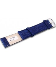 Krug Baümen CP49BlueG Neon Blue Leather Replacement Mens Principle Strap