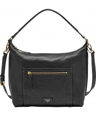 Fossil ZB6457001 Ladies Vickery Black Shoulder Bag
