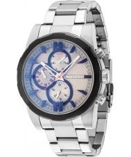 Police 14541JSTB-13M Mens Matchcord Silver Steel Bracelet Watch