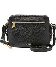 Fossil ZB6865001 Ladies Piper Black Cross Body Bag