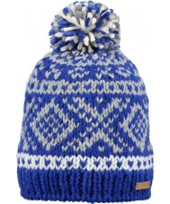 Barts 11050194 Ladies Log Cabin Navy Beanie