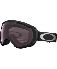 Oakley OO7047-02 Canopy Matte Black - Prizm Rose Ski Goggles