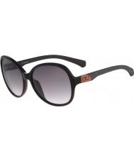 Calvin Klein Jeans Ladies CKJ778S Black Sunglasses
