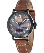 AVI-8 AV-4020-06 Mens Lancaster Bomber Brown Leather Strap Watch