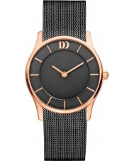 Danish Design V71Q1063 Ladies Black Steel Mesh Bracelet Watch