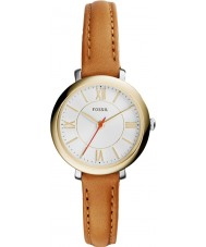 Fossil ES3801 Ladies Jacqueline Tan Leather Strap Watch
