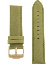 Charles Conrad CDA1006-17-L17 Olive Green Leather Strap