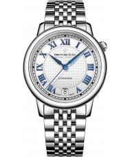 Dreyfuss and Co DLB00148-01 Ladies Series 1925 Silver Steel Automatic Watch
