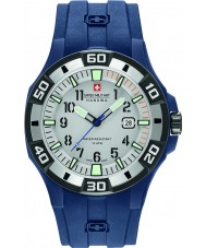 Swiss Military 6-4292-23-009-03 Mens Bermuda Blue Silicone Strap Watch