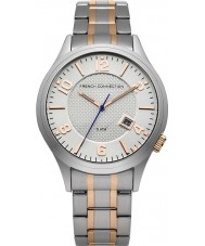 French Connection FC1260SRGM Mens Silver and Gold Bracelet Watch