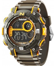 Timberland 14503JPGNOR-02 Mens Tremont Green Rubber Strap Watch