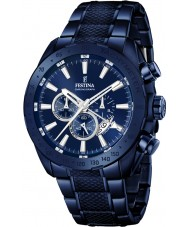 Festina F16887-1 Mens Prestige Blue Steel Chronograph Watch