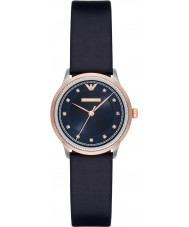 Emporio Armani AR2066 Ladies Dress Blue Leather Strap Watch