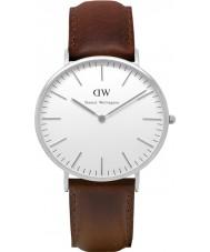 Daniel Wellington DW00100023 Mens Classic 40mm Bristol Silver Watch