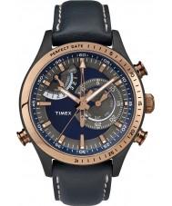 Timex Intelligent Quartz TW2P72700 Mens Blue Chrono Timer Watch