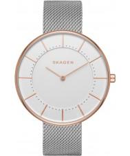 Skagen SKW2583 Ladies Gitte Silver Steel Mesh Bracelet Watch