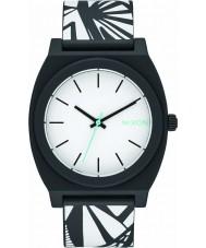 Nixon A119-2218 Mens Time Teller P Black Bleach Watch