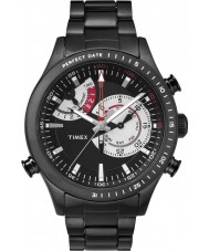 Timex Intelligent Quartz TW2P72800 Mens Black Chrono Timer Watch