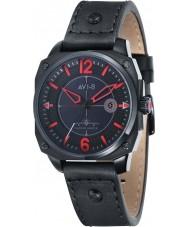 AVI-8 AV-4039-04 Mens Hawker Hunter Black Leather Strap Watch