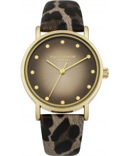Daisy Dixon DD036BRG Ladies Jessie Natural Leopard Print PU Watch