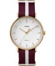 Timex Weekender Two Tone Nylon Strap Watch