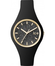Ice-Watch 001349 Ladies Ice-Glitter Black Silicone Strap Small Watch