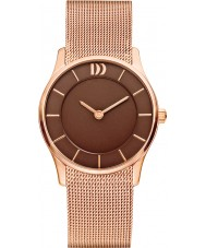 Danish Design V68Q1063 Ladies Rose Gold Plated Mesh Strap Watch