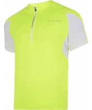 Dare2b DMT136-0M060-M Mens Commove Fluro Yellow Jersey T-Shirt - Size M