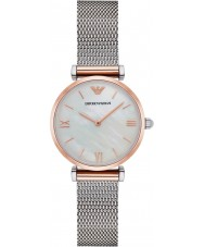 Emporio Armani AR2067 Ladies Classic Silver Steel Bracelet Watch