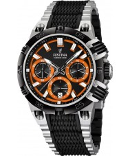 Festina F16775-6 Mens 2014 Chrono Bike Tour De France Orange Black Watch