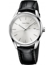 Calvin Klein K4M211C6 Mens Formality Silver Black Watch
