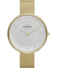 Skagen SKW2141 Ladies Gitte Gold Mesh Watch