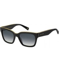 Marc Jacobs Ladies MARC 163-S 807 9O Sunglasses