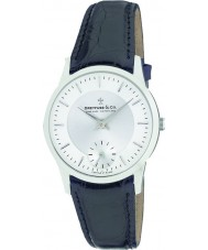 Dreyfuss and Co DGS00001-02 Mens 1946 Black Leather Strap Watch