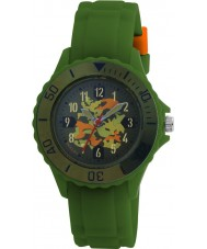 Tikkers TK0030 Kids Green Rubber Watch