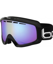 Bolle 21070 Nova II Shiny Black - Modulator Light Control Ski Goggles