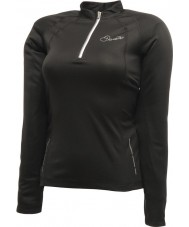 Dare2b Ladies Ardent Black Long Sleeve Top
