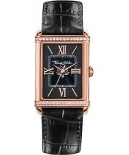 Thomas Sabo WA0234-213-203-32x25mm Ladies Century Black Leather Strap Watch