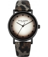 Daisy Dixon DD036EB Ladies Jessie Grey Leopard Print PU Watch
