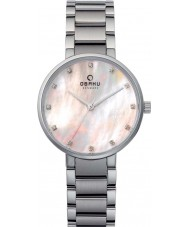 Obaku V189LXCPSC Ladies Silver Steel Bracelet Watch