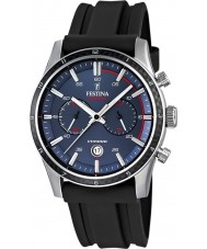 Festina F16874-G Mens Tour of Britain 2015 Blue Black Chronograph Watch