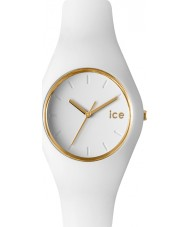 Ice-Watch 000917 Ladies Ice-Glam Exclusive White Silicon Strap Watch