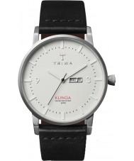Triwa KLST101-CL010112 Dawn Klinga Black Leather Strap Watch