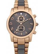 Lipsy LP358 Ladies Grey Rose Gold Two Tone Watch