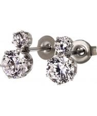 Edblad 31630124 Ladies Crown Earrings