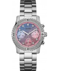 Guess W0774L1 Ladies Confetti Silver Steel Bracelet Watch