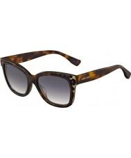 Jimmy Choo Ladies Bebi-S PUU 9C Animal Havana Sunglasses