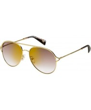 Marc Jacobs Ladies MARC 168-S 06J JL Sunglasses