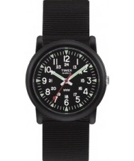 Timex T18581 Mens All Black Camper Watch