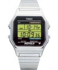 Timex Originals T78587 Mens Silver Classic Digital Chronograph Watch